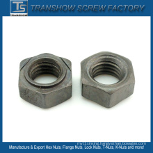 DIN929 Plain Finished Carbon Steel Hex Weld Nuts