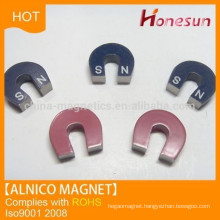 Hot sale alnico horse shape magnet made in China