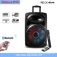 15 Inch Professional 2 Way USB Active DJ Bluetooth Speaker