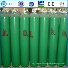 Cilindro de hidrógeno de acero sin costura (ISO9809-3)