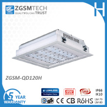120W LED Gas Station Lighting with 100000 Hours Lifespan
