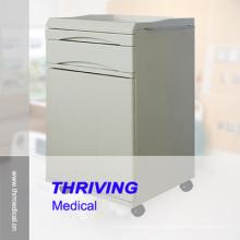 Высокий металлический прикроватный шкаф Guality Metal (THR-CB470)