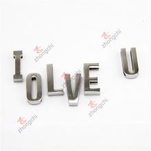 En alliage en 3D Décoration Découper Lettres Charms pour Bracelet Cadeaux (DSL51031)