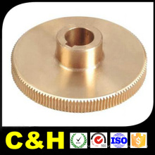 Polished Brass CNC Machined Turned Parts for Medical Device