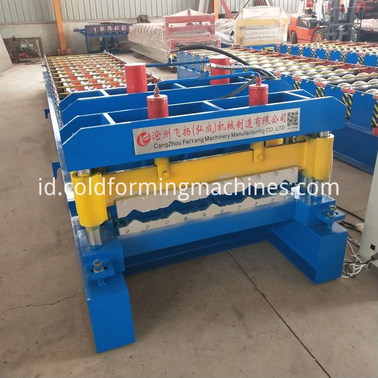 glazed tile roll forming machine 1