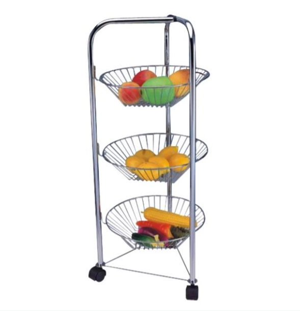 Fruits cart with large capacity