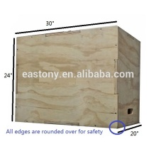 Wood Puzzle Plyo Box