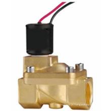 venda quente latão Válvula solenóide de pulso magnético 24 v dc