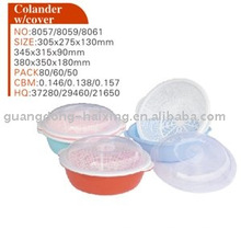 plastic colander with cover