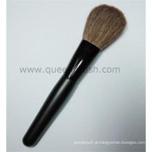 Pêlo de cabra macia cabelo-cuidado escova de pó cosmético