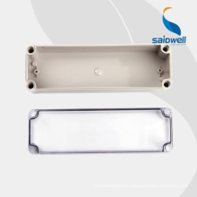 Высококачественная прозрачная пластиковая коробка Электронные корпуса 80 * 250 * 85 мм