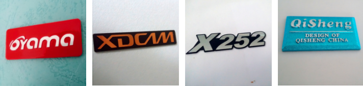 Customizable Aluminum Nameplate