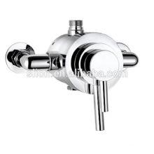 Banheiro termostático de baixo preço válvula de chuveiro exposta de latão