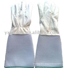 Long Cuff Glove-Full Pig Leather Glove-Working Glove