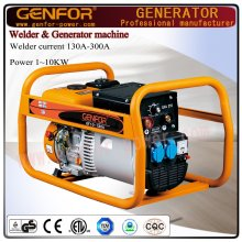 Générateur de soudeuse à essence Machine à double usage 100A-300A