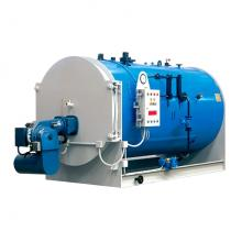 Caldera de vapor horizontal empaquetada a gas natural