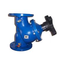 Valve d'équilibrage hydraulique en fonte
