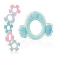 Eco-Friendly personalizada silicone borracha teether brinquedo para bebê