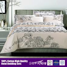 eco-friendly Cotton Duvet Cover Set/hotel Bedspreads/5 Star Hotel Supplier