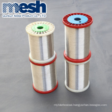 Anping factory cheap price 0.3mm 0.025mm stainless steel wire in spool