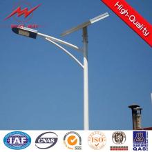 7m Galvanized Single Arm Street Steel Lighting Pole