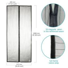 New Style Mosquito Door Net Screen Fly Mosquito Net Door Curtain Top Lace