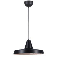 Modern Black Steel E27 Kitchen Pendant Light (MD6160-350B)