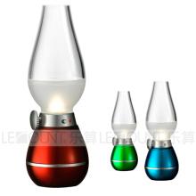 Sensor de Decoração Clássico Blowing Control LED Night Light (LNT007A)