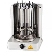 Grille de rôtissoire rotative verticale électrique de table