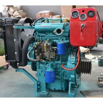 Moteur diesel refroidi à l'eau de petit cylindre de 2 cylindres