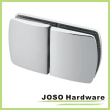 Стеклянный к стеклу 180-градусный латунный тяжелый зажим для душа (BC502-180)