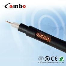 RG 6 copper clad aluminum digital TV cable