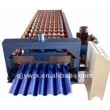 Trapezförmige Profil Stahl Dach / Wall Panel Roll Formmaschine