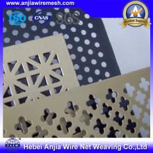 Hoja de aluminio perforado para la decoración con CE, RoHS