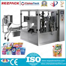 Automatische Eiscreme Wiegen Füllen Abdichtung Lebensmittel Verpackungsmaschine