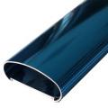 Aluminiumprofil mit verschiedenen Oberflächenveredelung