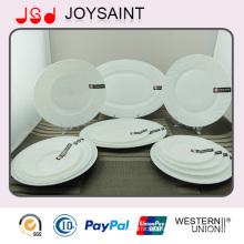 Fashion Design Opal Glassware Dinner Plate