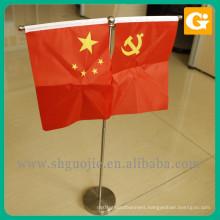 Custom high definition portable mini table flag for sale