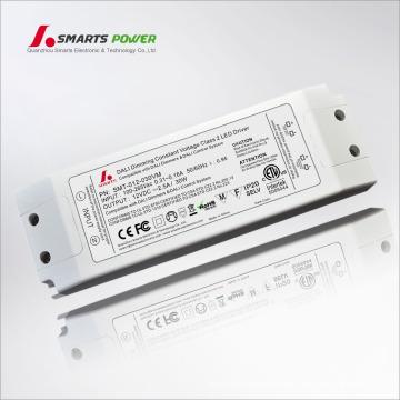 ETL FCC listete 12v 2500ma dali dimmbare LED-Treiber für LED-Streifen auf