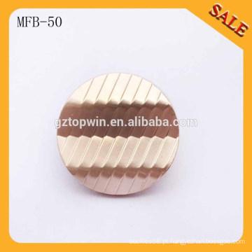 MFB50 Metal Shank Botões militares Botão de costura para vestuário 18mm