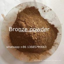 pó de bronze de ouro rico à base de água