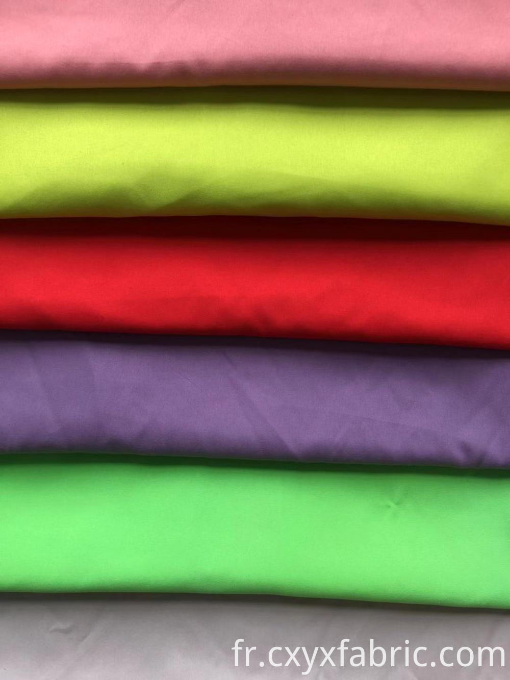 Plain Poly Cotton Fabric