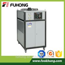 Ce certificação desempenho de alto custo 5hp industrial de plástico de água refrigerada a ar preço do resfriador