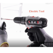 Super Grip Comfort Nitrile Foam Coated Work Gloves For Tool Handling