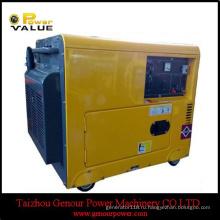 Хорошие цены Молчком Тепловозный генератор генератор 6.5 ква