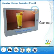 Joueur de publicité LCD 7 pouces avec capteur de mouvement