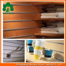 Slotted MDF Board, Melamine Slotted MDF, Grooved MDF 18mm
