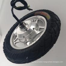 Easy Drum Brake Electric Motor 36v 350w For Motorcycle Hub Motor Tire