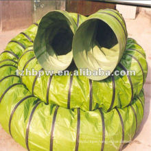 Flame retardant PVC tarpaulin air conducting/duct