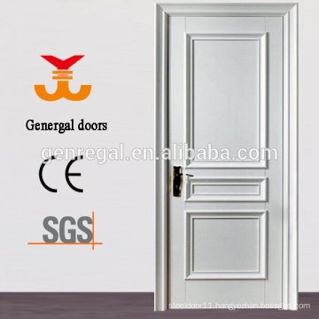 CE White lacquer finish interior wooden doors